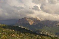 Mallorca mountain view Stock Photo
