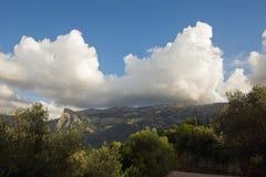 Mallorca mountain view Stock Photos