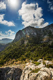 Mallorca mountain view Spain. Mallorca (balearic island) mountain view Spain Stock Photography