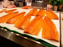 Mallorca, palma, fish market. At the fish market in palma fresh fish are sold Royalty Free Stock Image