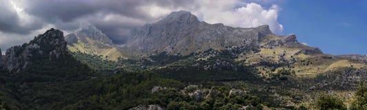 Mallorca. Pano landscape of mallorca spain Stock Images