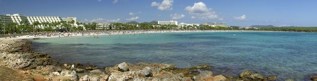 Mallorca panorama royalty free stock photography