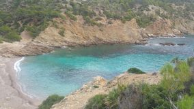 Mallorca plaża Cala D& x27; jaźnie Fotografia Royalty Free