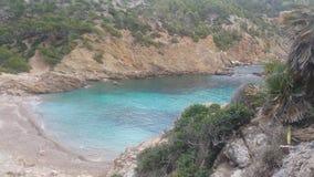 Mallorca plaża Cala D& x27; jaźnie Zdjęcie Royalty Free