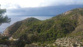 Mallorca plaża Cala D& x27; jaźnie Obrazy Royalty Free