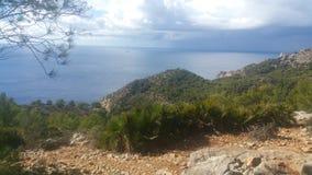 Mallorca plaża Cala D& x27; jaźnie Obraz Stock