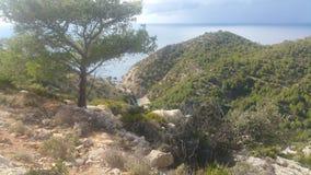 Mallorca plaża Cala D& x27; jaźnie Zdjęcia Stock