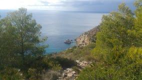 Mallorca plaża Cala D& x27; jaźnie Zdjęcia Royalty Free