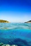 Mallorca plaży S ` Amarador Zdjęcie Royalty Free