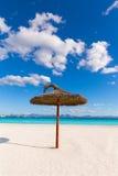 Mallorca Platja de Alcudia beach in Majorca. Balearic islands Stock Image