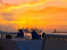 Mallorca port de Andratx sunset in Mallorca Royalty Free Stock Image