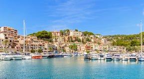 Mallorca - at porto de soller Stock Images