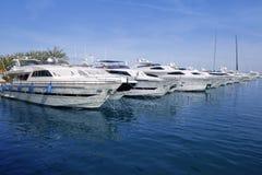 Mallorca Puerto Portals port marina yachts Royalty Free Stock Image