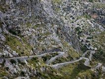 Mallorca Sa Calobra royaltyfria bilder