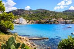 Mallorca sceneria Fotografia Royalty Free