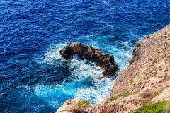 Mallorca searock royalty-vrije stock afbeeldingen