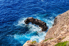 Mallorca searock Royalty Free Stock Images