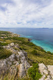 Mallorca septentrional, costa costa Foto de archivo