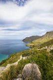 Mallorca septentrional, costa costa Fotos de archivo