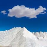 Mallorca Ses Salines Es Trenc Estrenc saltworks Royalty Free Stock Photos