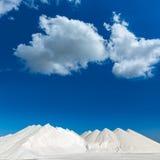 Mallorca Ses Salines Es Trenc Estrenc saltworks Stock Images