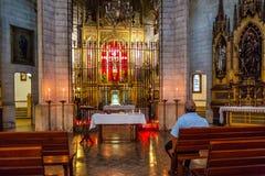 Mallorca Soller Cathedral chapel interior Stock Photos