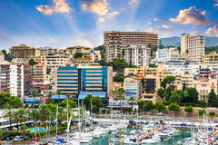 Mallorca, Spain Port. Palma de Mallorca, Spain at the port Royalty Free Stock Photography