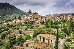 Mallorca, Spain Village. Valldemossa, Mallorca, Spain historic village Royalty Free Stock Photography