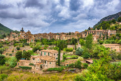 Mallorca, Spain Village. Valldemossa, Mallorca, Spain old village Stock Photo