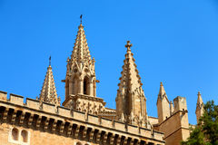 Mallorca Steeples Royalty Free Stock Images