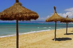Mallorca-Strand Stockbild