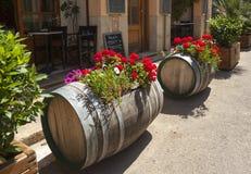 Mallorca. Street of little town on Mallorca, Spain Stock Image