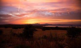 Mallorca sunset Stock Photos