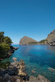 Mallorca turquoise beach Royalty Free Stock Images