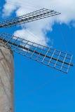 Mallorca windmill sky Stock Image