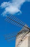 Mallorca windmill sky Royalty Free Stock Photography