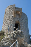 Mallorcan Coast Observation Tower Stock Photos
