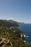 Mallorcan kust Royaltyfri Foto