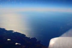 Mallorce. Mallorca in the blue sea and sky Stock Photos