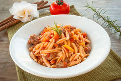 Malloreddus, sardinian cuisine Stock Photography