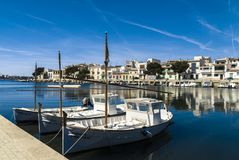 Mallorka, Porto Colom Stock Photo
