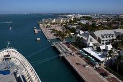 Mallory kvadrerar i Key West, Florida Arkivfoto