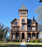 Mallory-Neely House. This is a Spring picture of the Mallory-Neely House located in the Victorian Village District of Memphis, Tenneessee.  The house built by Royalty Free Stock Photo