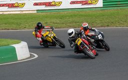 Mallory Park Motorcycle Racing stock foto's
