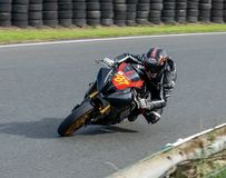 Mallory Park Motorcycle Racing royalty-vrije stock foto's