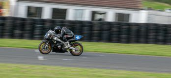 Mallory Park Motorcycle Racing stock photography
