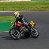 Mallory Park Motorcycle Racing royalty free stock photography