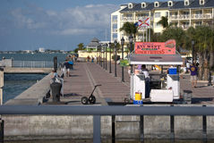Mallory Square Royalty Free Stock Images