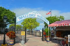 Mallory Square, Key West, Florida Royalty Free Stock Photo