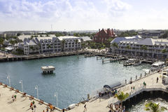 Mallory Square in Key West, Florida Stock Images